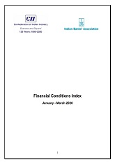 CII - IBA Financial Conditions Index for Q4 FY 2019-20