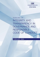 Guidelines on Integrity and Transparency in Governance and Responsible Code of Conduct