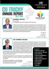 CII Trichy Zone: Annual Report 2019 - 20