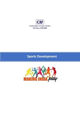 Sport Development: Making India Play