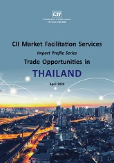 CII Market Facilitation Services - Import Profile Series: Trade Opportunities in Thailand