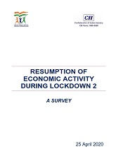 Resumption of Economic Activity During Lockdown 2: A Survey