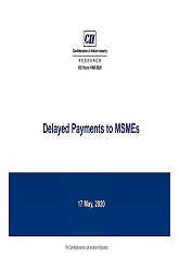 Delayed Payments to MSMEs