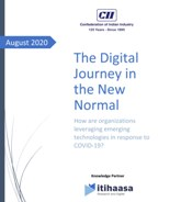 The Digital Journey in the New Normal - How Are Organizations Leveraging Emerging Technologies in Response to COVID-19?