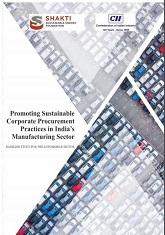 Promoting Sustainable Corporate Procurement Practices in India's Manufacturing Sector