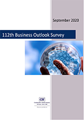 112th Business Outlook Survey - September 2020