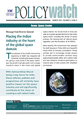 CII Policy Watch: Focus - Space Sector