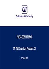 Economic Outlook - Presentation by Mr T V Narendran, President, CII