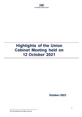 Highlights of the Union Cabinet Meeting held on 12 October 2021