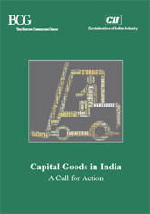 Capital Goods in India: A Call for Action