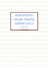 Asia - Pacific online travel report 2010