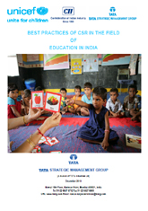 Best practices of CSR in the field of education in India