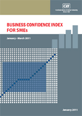Business Confidence Index For SMEs: January - March, 2011