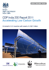 CDP India 200 Report 2011: Accelerating Low Carbon Growth