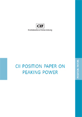 CII Position Paper on Peaking Power: January 2012