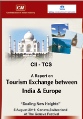CII - TCS Report on Tourism Exchange between India and Europe