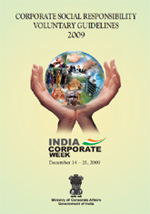 Corporate social responsibility voluntary guidelines 2009