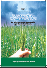 Food security and variable monsoon: Key policy intervention recommended in agriculture and market domains