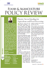 Food and Agriculture Policy Review - Priority Sector Lending for Agriculture and Food Processing (October 2012)