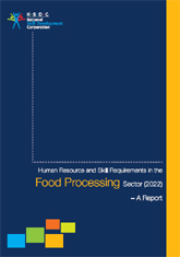 Human resource and skill requirements in the food processing sector