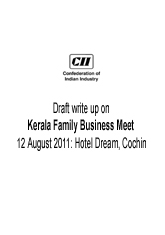 Kerala Family Business Meet