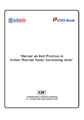 Manual on best practices in Indian thermal power generating units