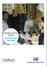 Publication: CII Nielsen India Study on Emerging Consumer Demand: Rise of the Small Town Indian