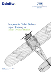 Prospects for global defence export industry in Indian defence market