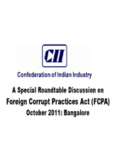 Report on Compliance Issues related Foreign Corrupt Practices Act