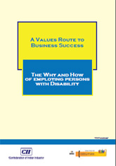 A Values Route To Business Success: The Why And How Of Employing Persons With Disability