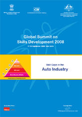 Skill Gaps in the Auto Industry 2008