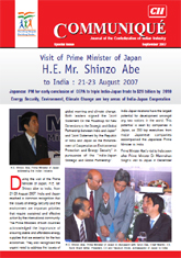 Visit of the Prime Minister of Japan H.E. Mr. Shinzo Abe in August 2007: A Retrospect