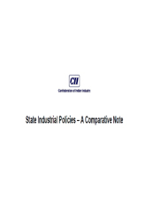 State Industrial Policies – A Comparative Note