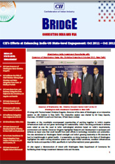 'BRIDGE'- Connecting India with USA and Canada (October 2012)