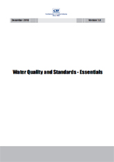 Water Quality and Standards - Essentials