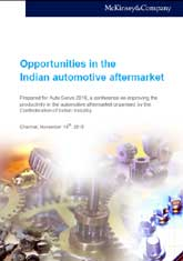 Opportunities in the Indian automotive aftermarket - McKinsey & Company Report