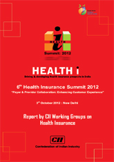 Report by CII Working Groups on Health Insurance